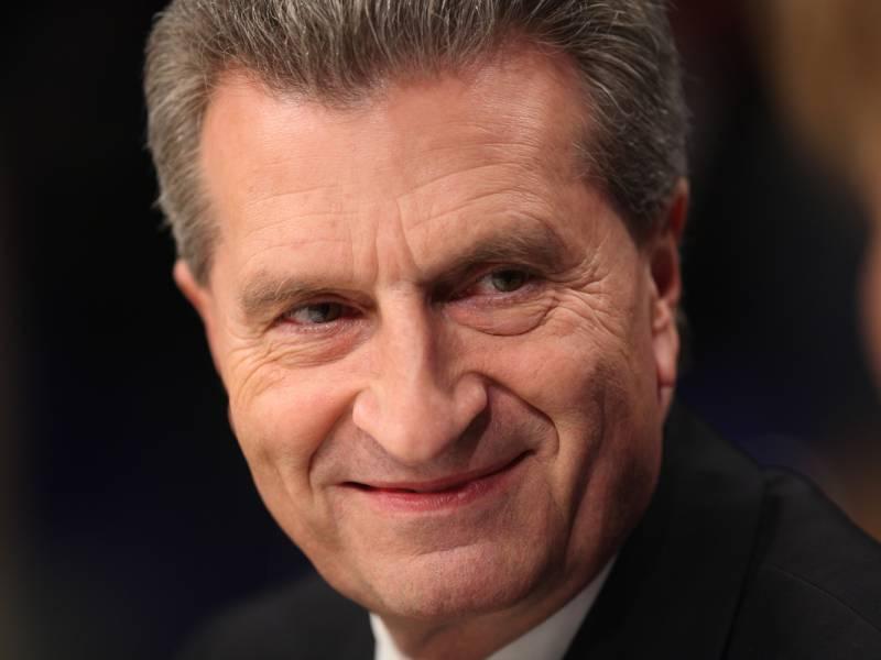 Guenther Oettinger Fuer Neuauflage Der Ttip Verhandlungen