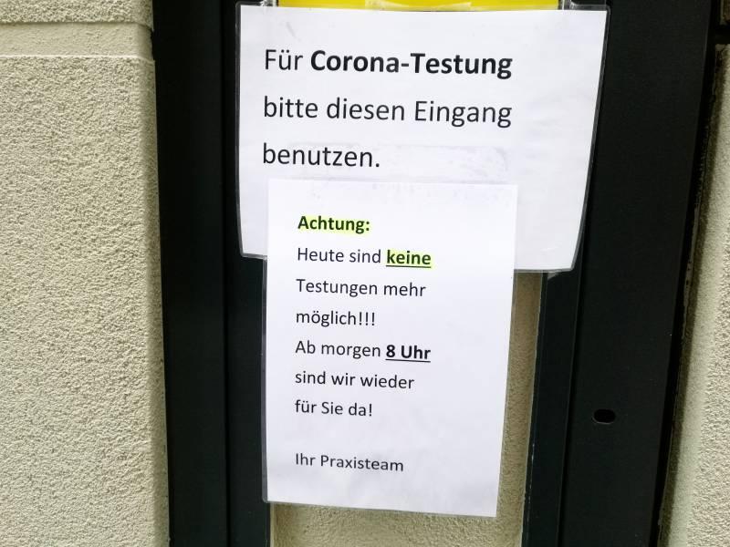 Hausaerzte Beklagen Ansturm Auf Corona Schnelltests