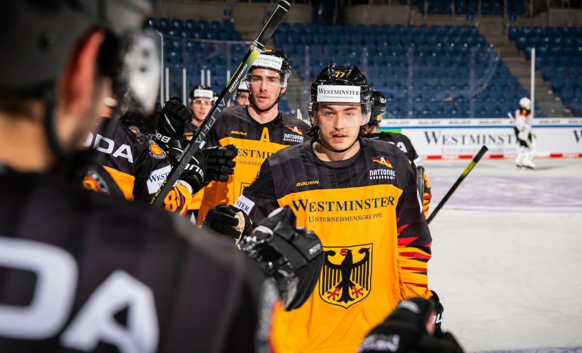 i-5B8zjDk-X3 Deutschland Cup | Eishockeynationalmannschaft gewinnt deutsches Duell gegen Perspektivteam Sport Überregionale Schlagzeilen |Presse Augsburg
