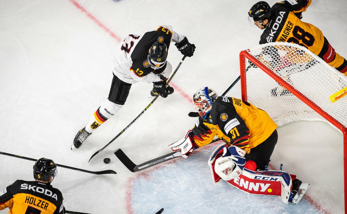 i-9jz4NDW-X3 Deutschland Cup | Eishockeynationalmannschaft gewinnt deutsches Duell gegen Perspektivteam Sport Überregionale Schlagzeilen |Presse Augsburg