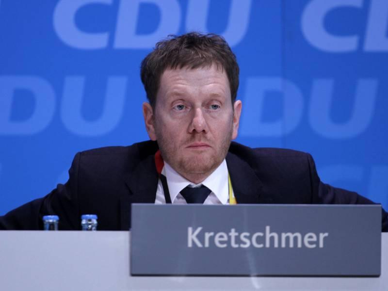 Kretschmer Verspricht Nach Querdenken Demo Aufklaerung