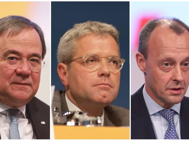 Merz Weist Kritik An Kampf Um Cdu Vorsitz Zurueck