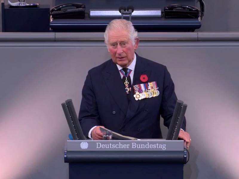 Prinz Charles Beschwoert Im Bundestag Deutsch Britisches Verhaeltnis