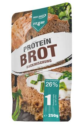 Produktrueckruf Brotbackmischung Fit4Day Protein Brot 250 G