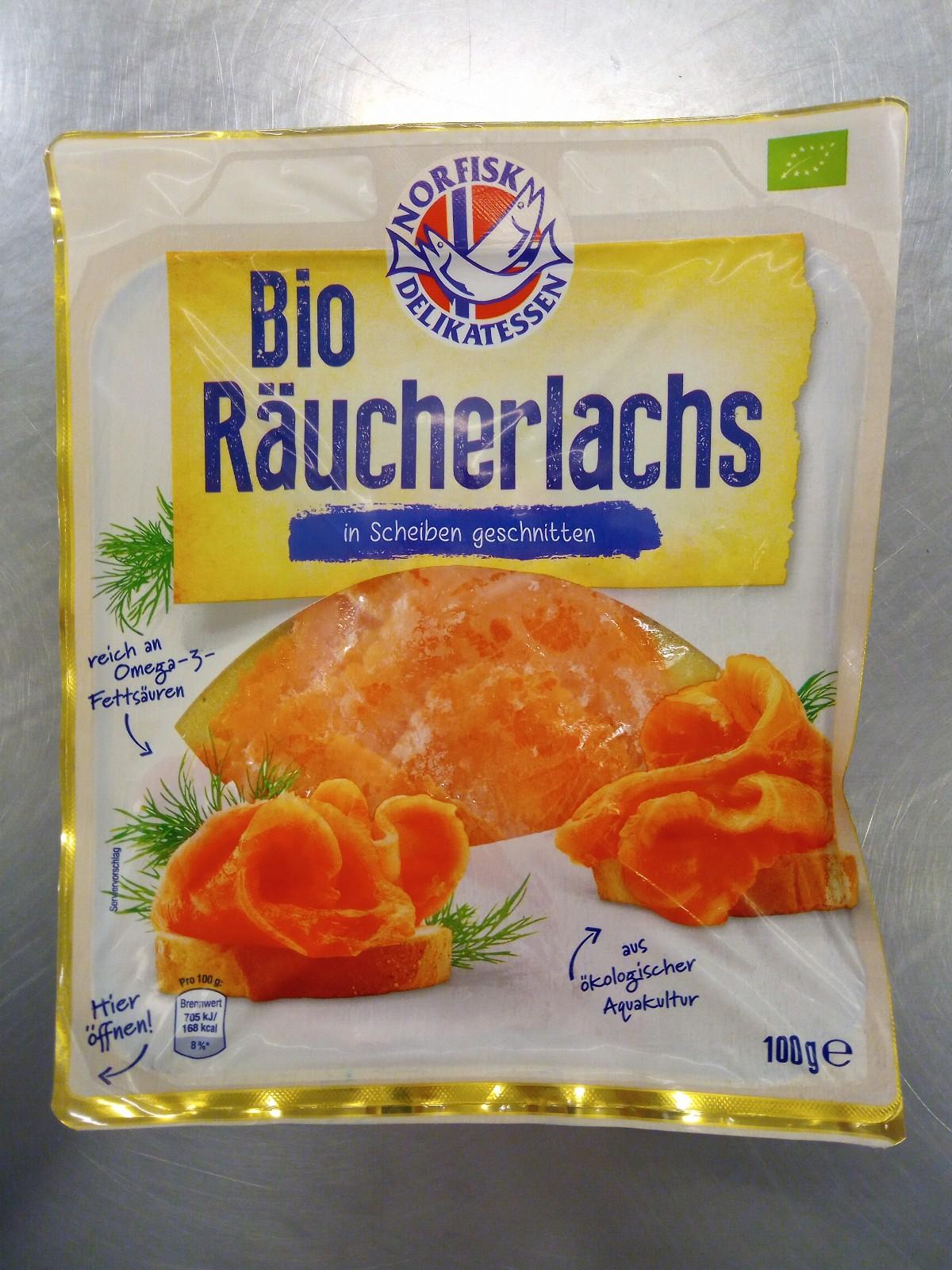 Produktrueckruf Norfisk Bio Raeucherlachs