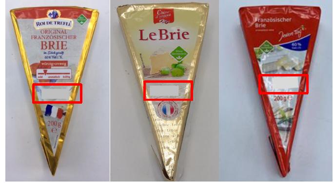 Produktrueckruf Original Franzoesischer Brie Roi De Trefle Le Brie Chene Dargent Franzoesischer Brie Jeden Tag