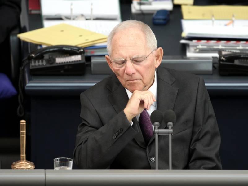Schaeuble Lehnt Briefwahl Des Neuen Cdu Vorsitzenden Ab