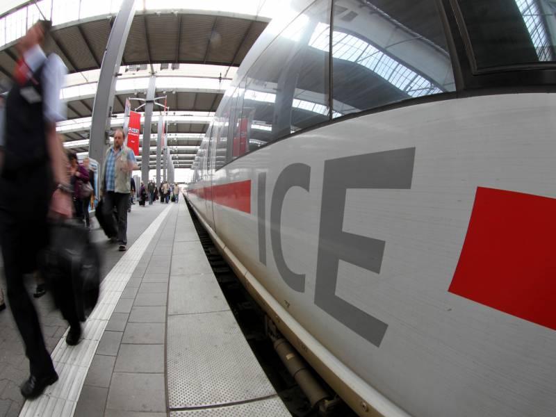 Ueber 40 Prozent Weniger Fahrgaeste Bei Der Deutschen Bahn