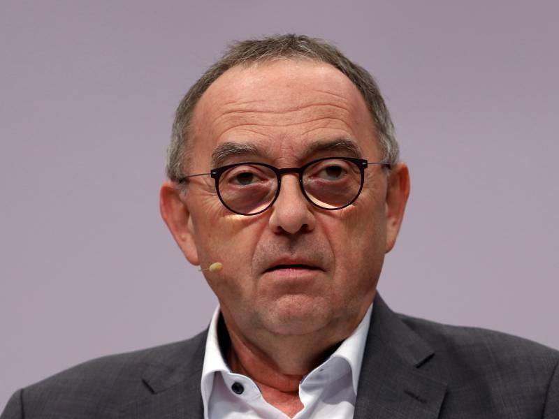 Walter Borjans Hofft Auf Maessigung Trumps Im Falle Eines Wahlsiegs