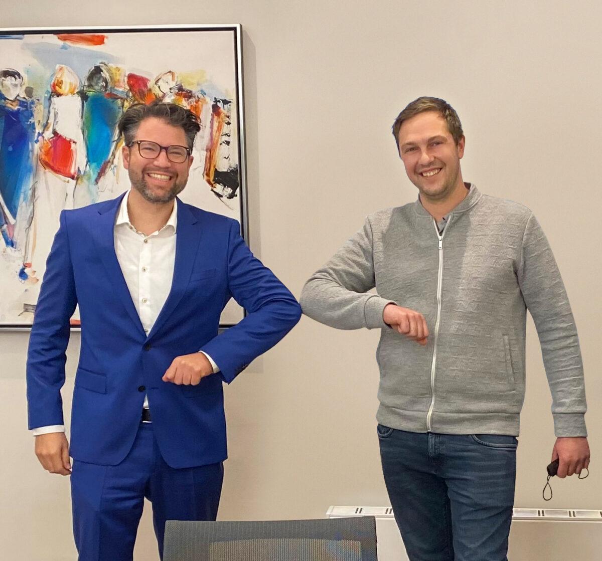 Daniel Sieberer Und Julian Goetzfried Signing Scaled