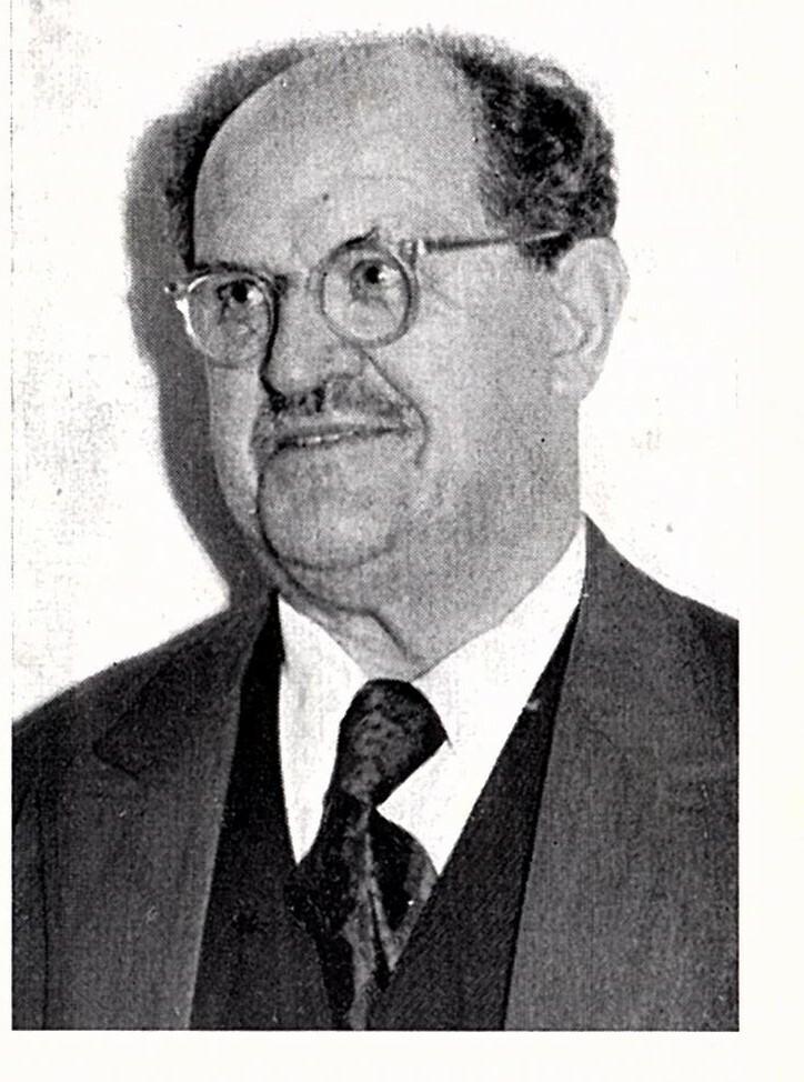 Max Welcker Aus 100 Jahre Festschrift Von 1958