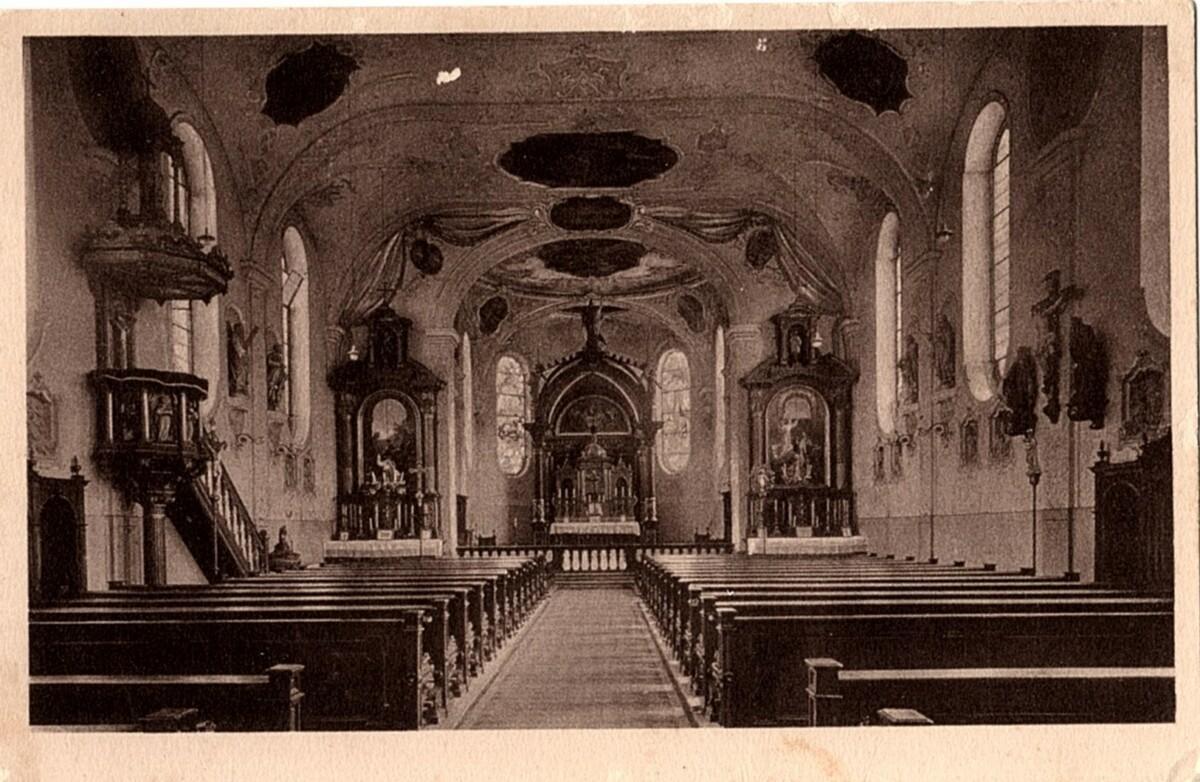 St.georg Inneres Um 1900