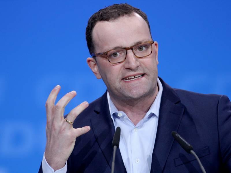 Bericht Cdu Wirtschaftsfluegel Verweigert Spahn Unterstuetzung