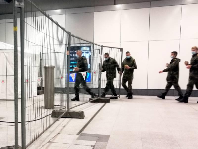 Bundeswehr Erhoeht Kontingent In Gesundheitsaemtern