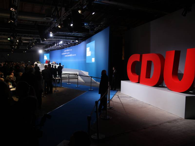 Cdu Plant Digitalen Parteitag Mitte Januar