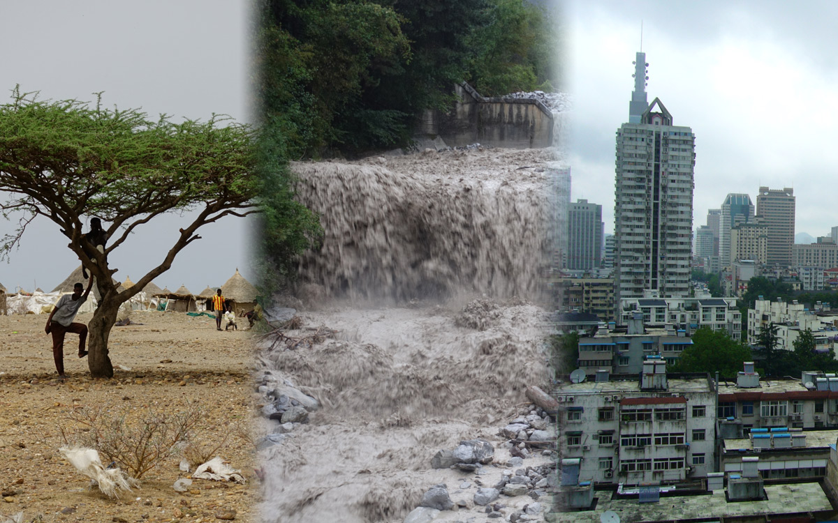 Duerre Hochwasser Megacity