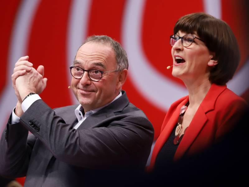 Esken Und Walter Borjans Erwaegen Neue Kandidatur Fuer Parteivorsitz