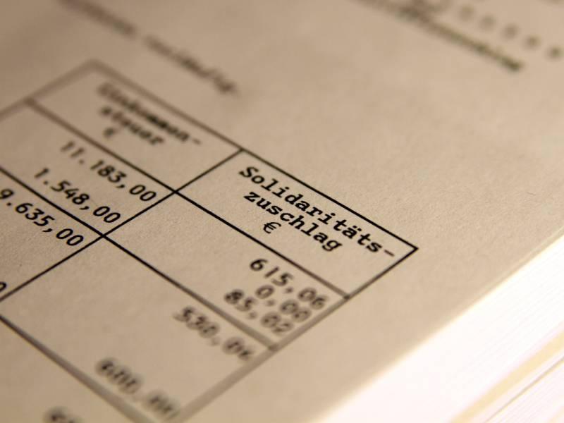 Finanzministerium Soli Entlastung Fuer 247 Millionen Steuerzahler