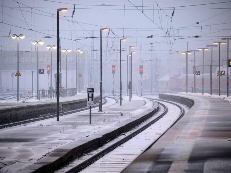 Gruene Planen Umbau Der Deutschen Bahn
