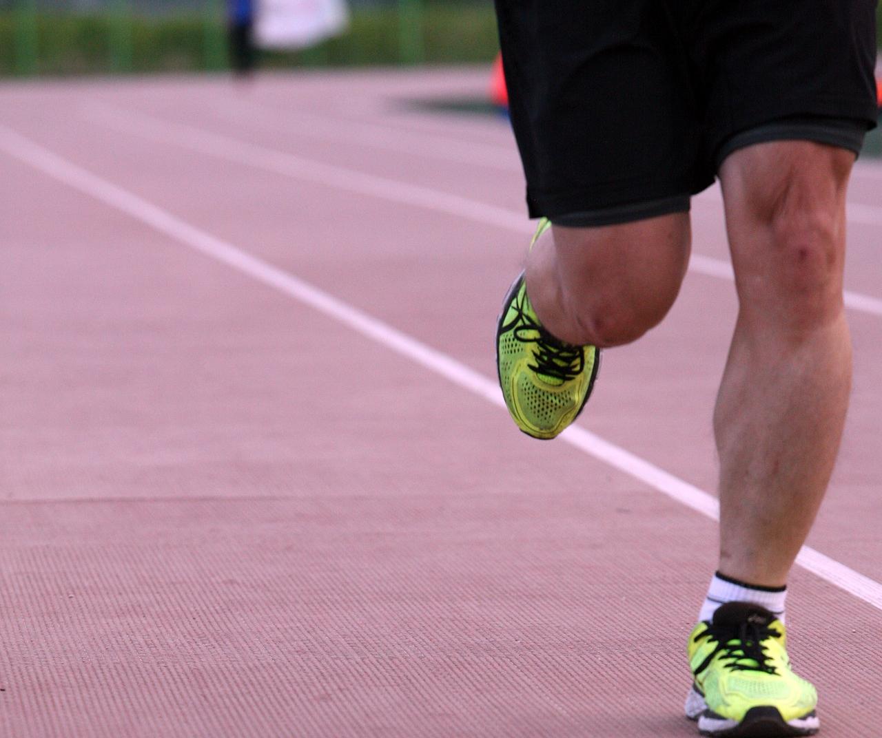 Joggen Laufen Leichtathletik
