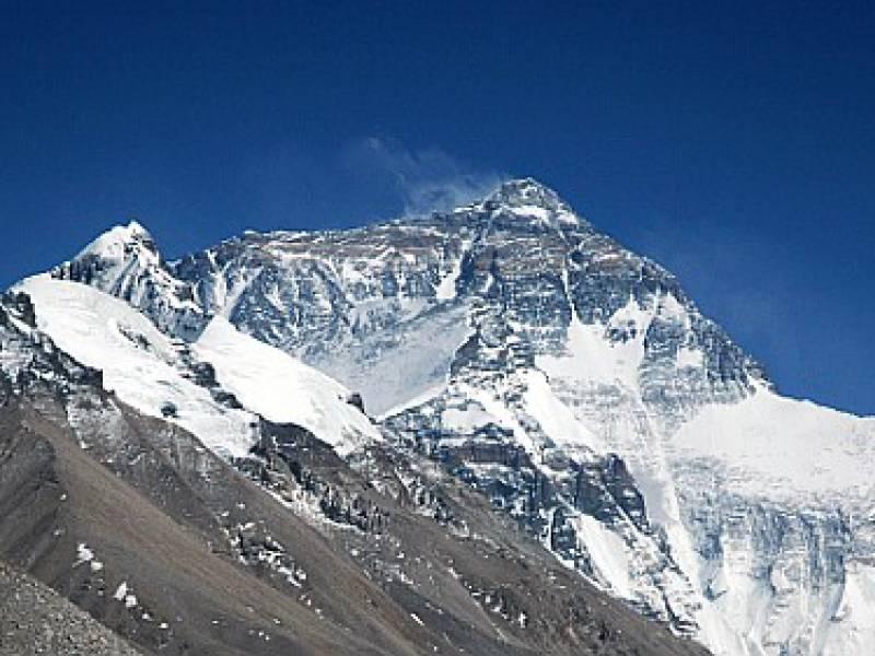 Mount Everest Ein Paar Zentimeter Hoeher