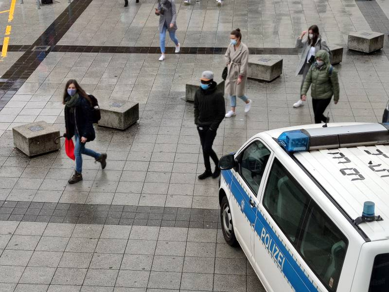 Polizei In Bayern Erwartet Wegen Corona Verschaerfungen Mehr Arbeit