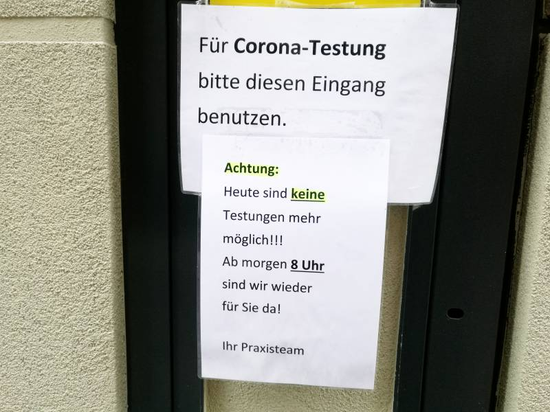 Positivrate Bei Corona Tests Deutlich Gestiegen