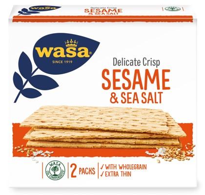 Produktrueckruf Wasa Delicate Crisp Sesame Sea Salt 190G Erweiterung Des Rueckrufs Vom 22 12 2020
