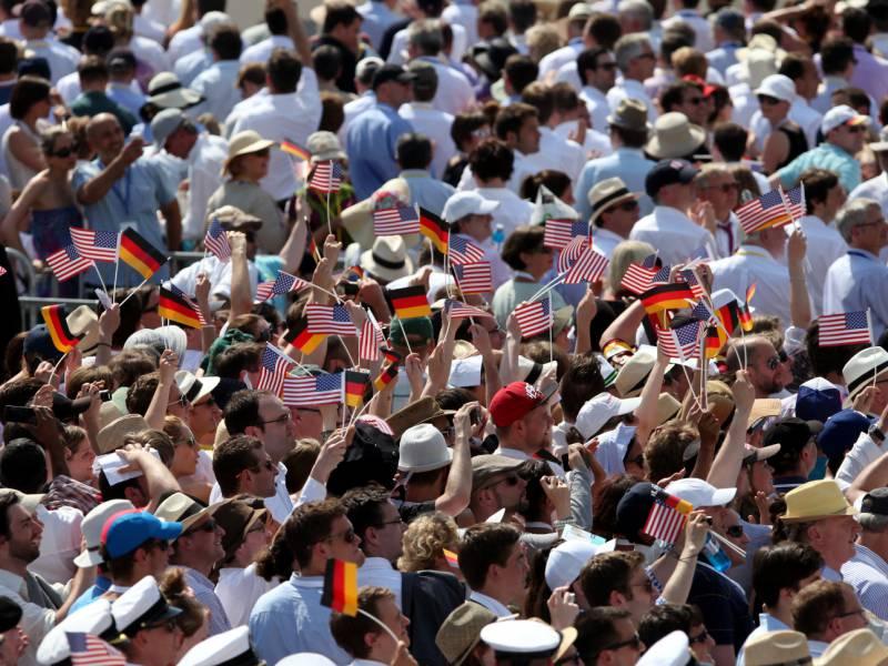 Umfrage Deutsche Erwarten Bessere Beziehungen Zu Den Usa