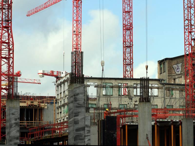 Weniger Baugenehmigungen Fuer Wohnungen