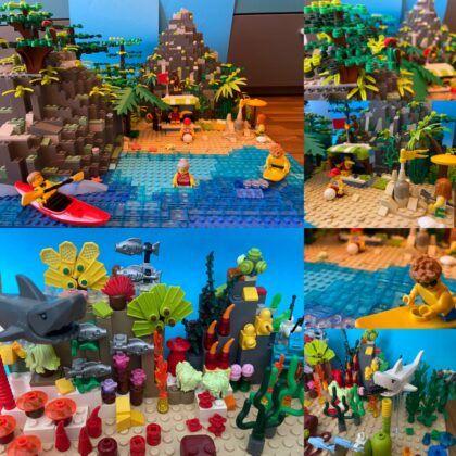 01 Team Zweistein Sandstrand Korallenriff
