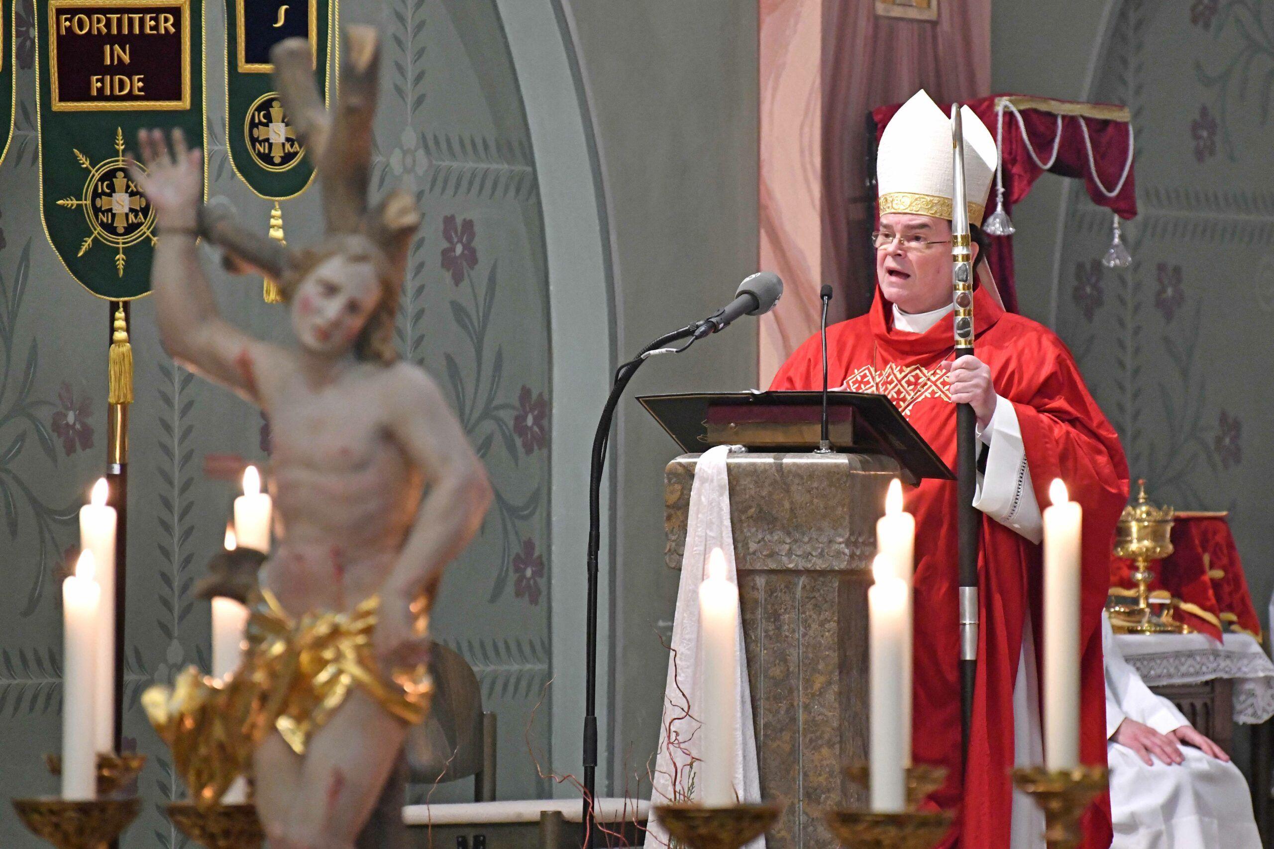 Bischof Bertram Predigt Zum Abschluss Der Sebastianioktav 2021 Foto Nicolas Schnall Pba Scaled