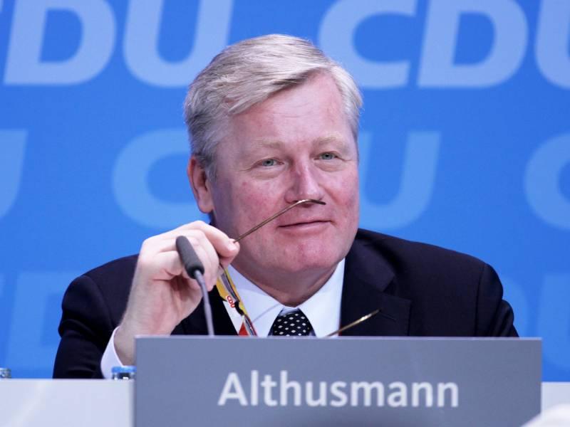 Althusmann Unterstuetzt Laschet Im Rennen Um Cdu Vorsitz
