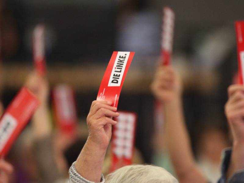 Linken Spitze Erwaegt Rein Digitalen Parteitag
