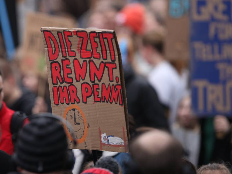Nur Minderheit Akzeptiert Radikale Aenderungen Fuer Klimaschutz