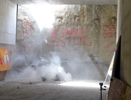 2021 03 25 Hbf Tunneldurchstich 1