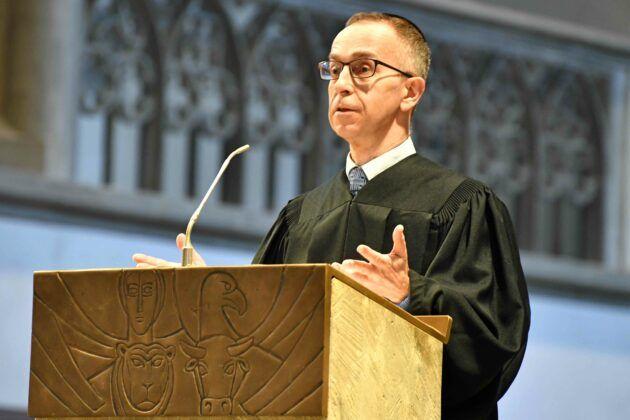 Woche Der Bruederlichkeit Ansprache Von Rabbiner Dr. Tom Kucera Bei Der Juedisch Christlichen Gemeinschaftsfeier Im Dom Foto Nicolas Schnall Pba