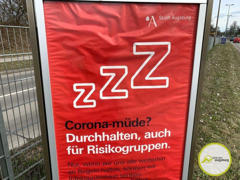 Corona Augsburg Plakat2