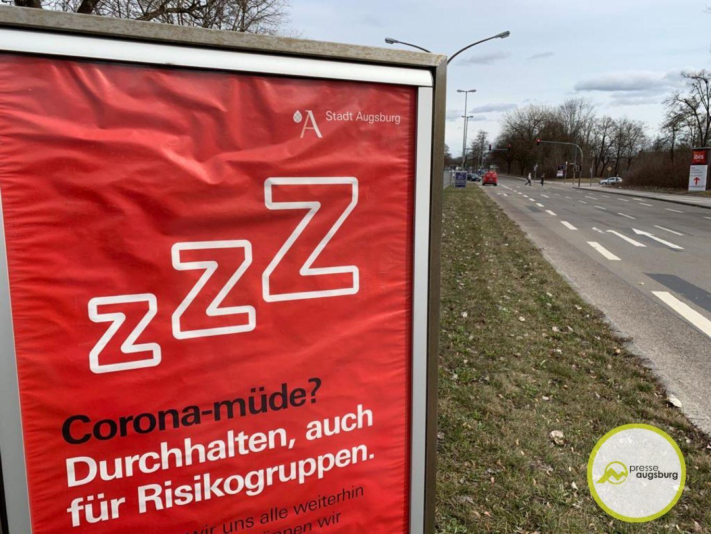 Corona Augsburg Plakat3