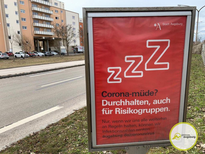 Corona Augsburg Plakat5