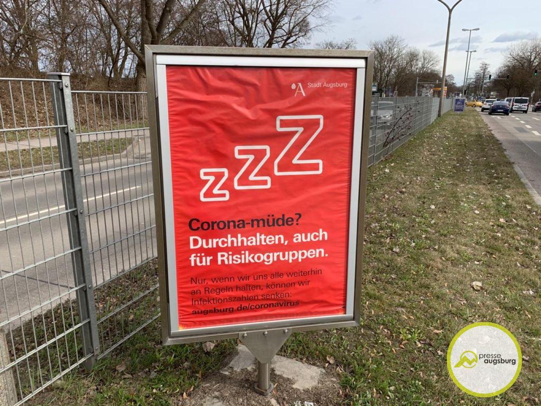 Corona Augsburg Plakat7
