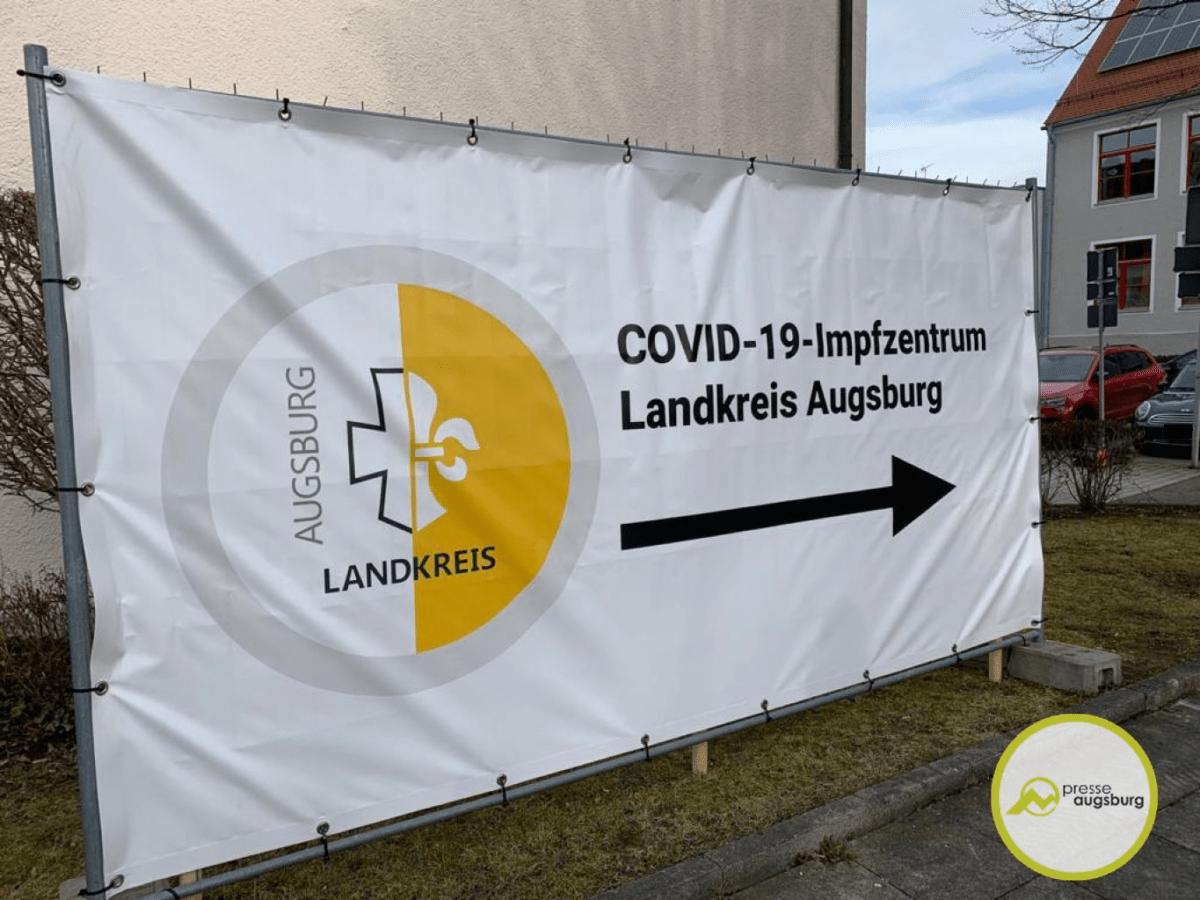 Corona Landkreis Augsburg Plakat Impfen Bobingen2