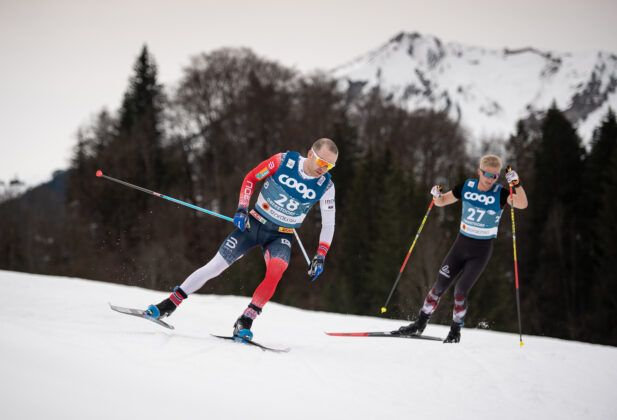 Sjur Roethe Nor Competes The Cross Country Men 150 Km Interval Start Free
