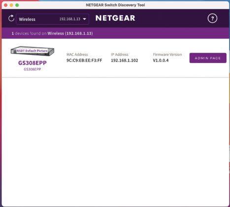 Netgear Poe Managed 011