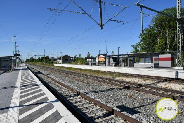 2021 06 14 Bahnhof Gersthofen 1