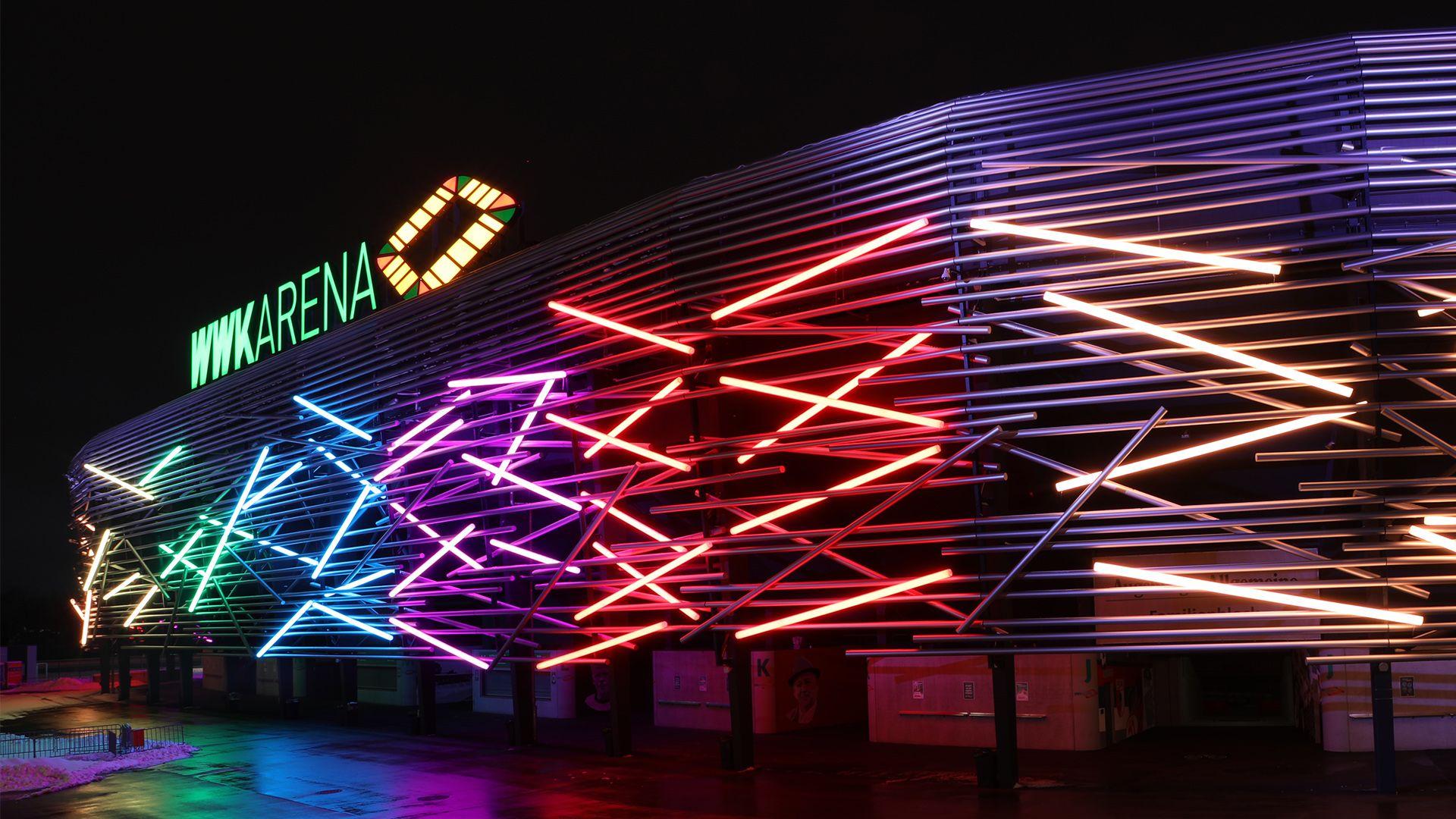 20210622 Wwk Arena Leuchtet Zum Laenderspiel Bunt