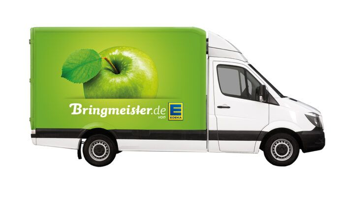 Lieferwagen Von Edeka Rgb