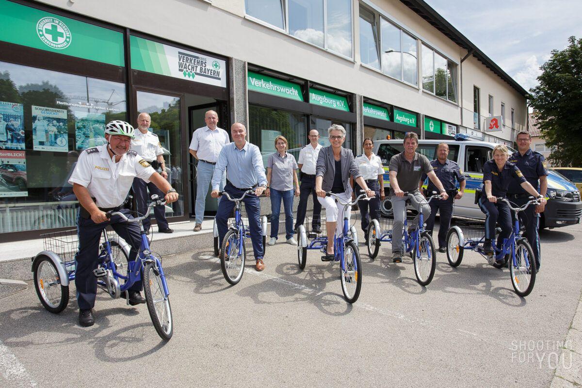 210712 Verkehrswacht Fahrrad Bergabe