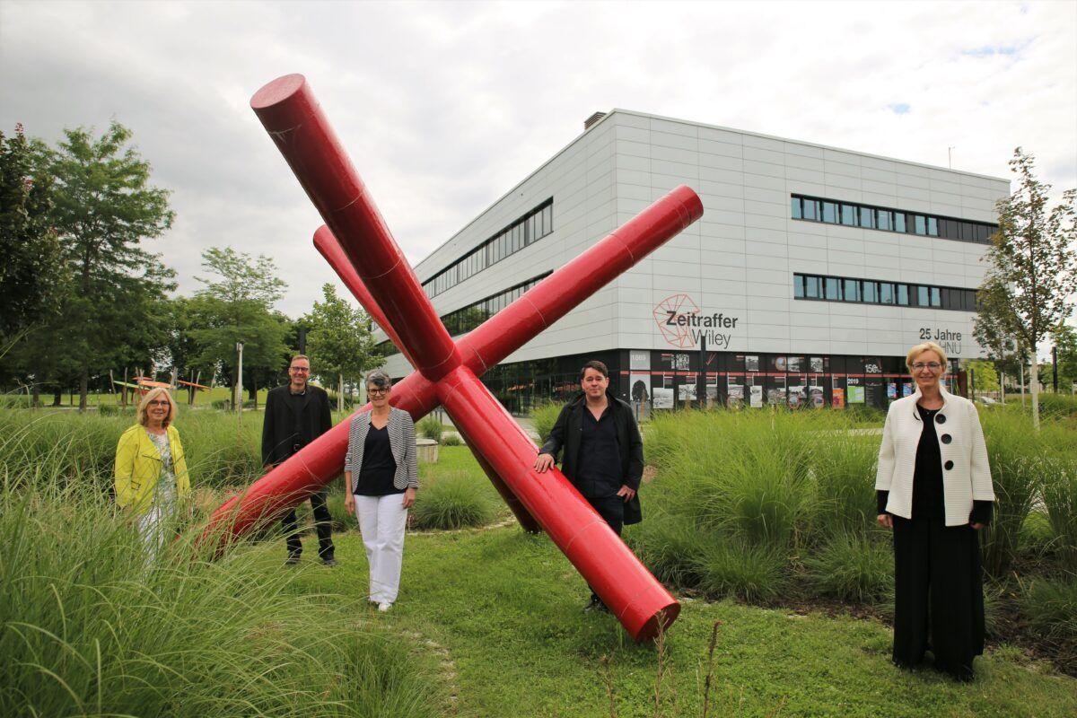 210714 Eroeffnung Kunstwerk Delta