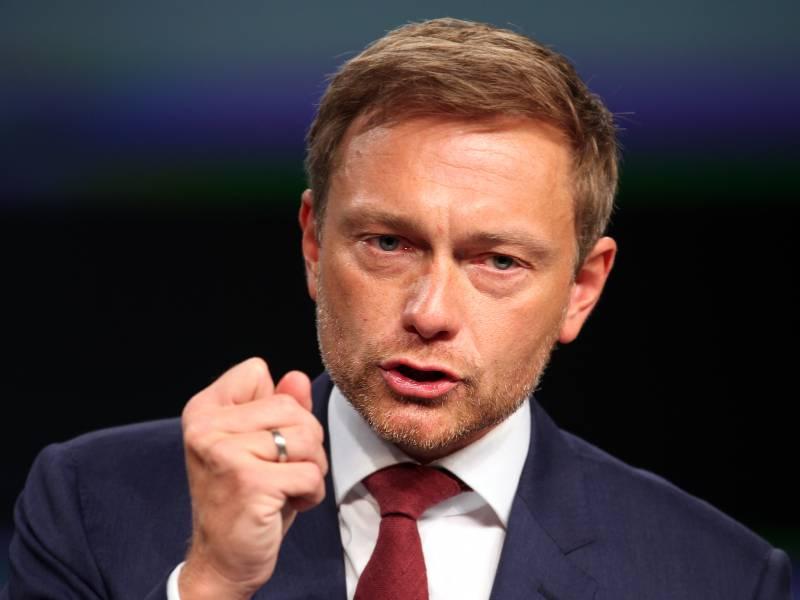Lindner Geht Fest Von Unionsgefuehrter Regierung Aus